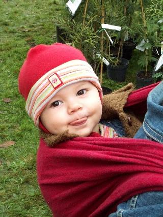 le bonheur de porter son enfant